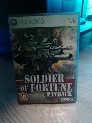 soldier of fortune payback xbox 360