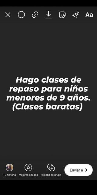 CLASES PARA NIÑOS MENORES DE 9 AÑOS
