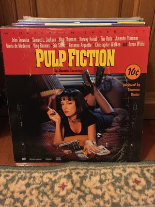 Pulp Fiction Laserdisc ntsc