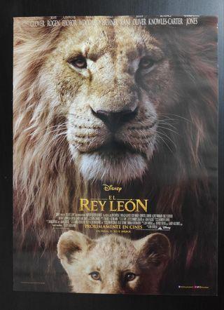Póster El Rey León (2019)