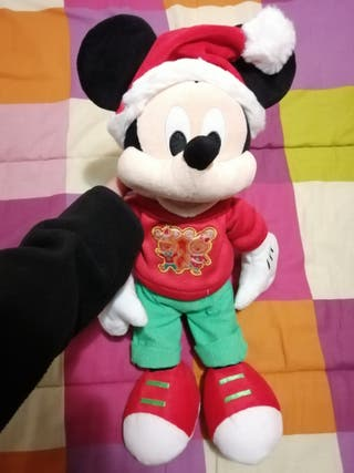 peluche mickey Navidad 2020