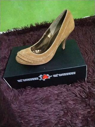 Zapatos de tacón: Blanco