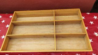 Cubertero de madera de buena calidad