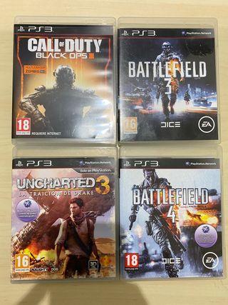 12 Juegos PS3