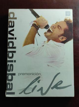 Pack CD Premonición David Bisbal