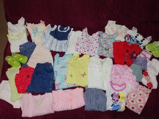 Lote de ropa bebé