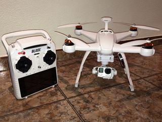 Dron por satélite y GoPro 4 black