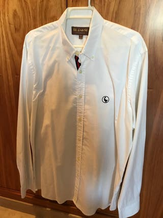 Camisa blanca el ganso talla M