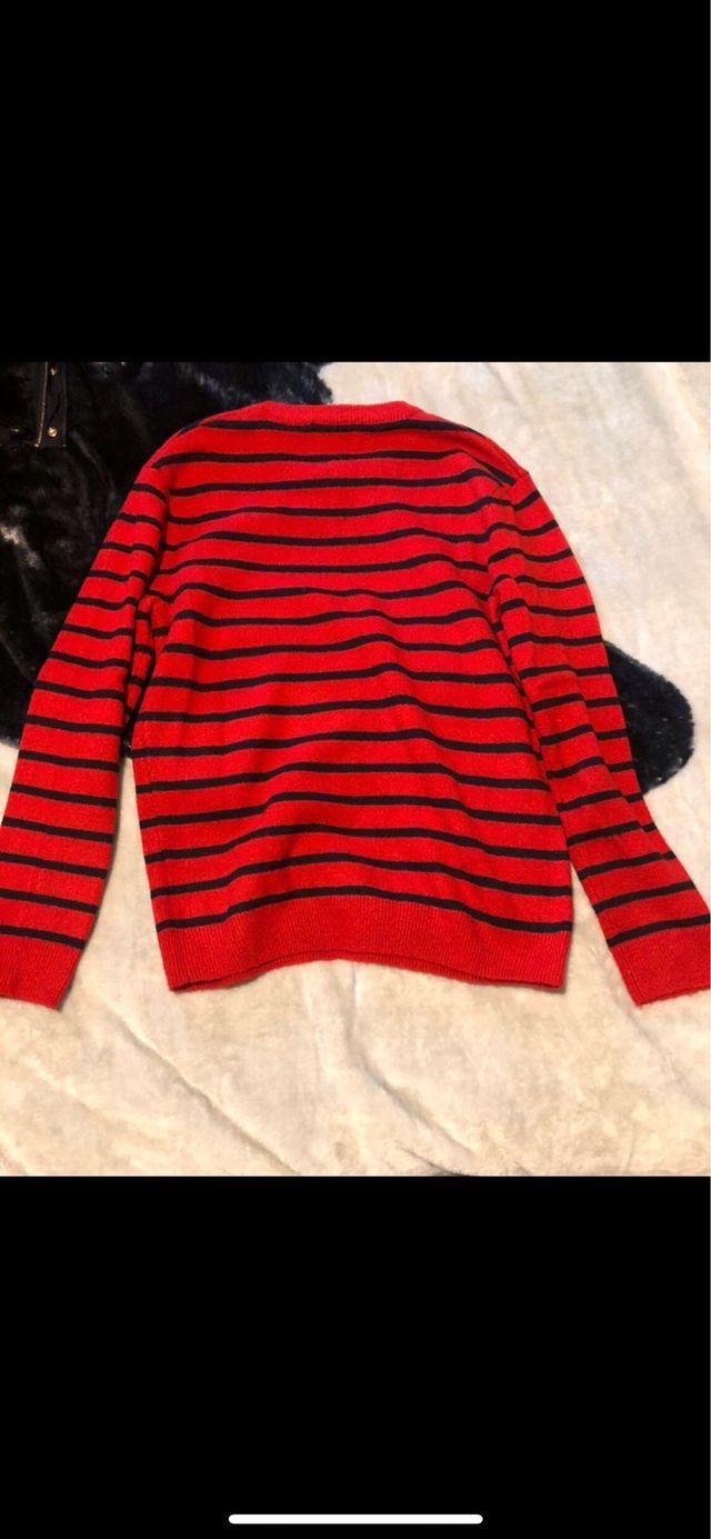 Red jumper Bershka