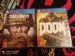 pack 2 juegos Playstation 4
