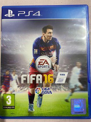 Juego Fifa 16 Ps4