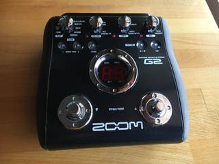 Pedal Multiefecto ZOOM G2