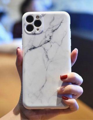 12 pro case estilo mármol