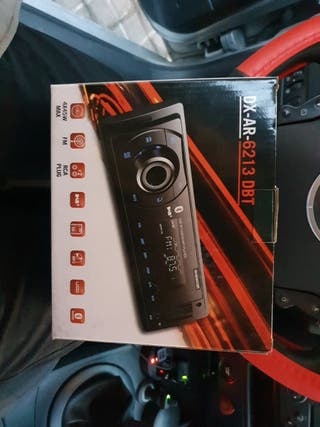 Radio Bluetooth USB Tarjeta sd