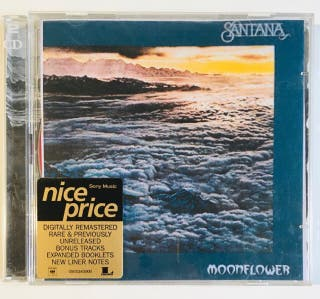 SANTANA : Moonflower 2 Discos Cd