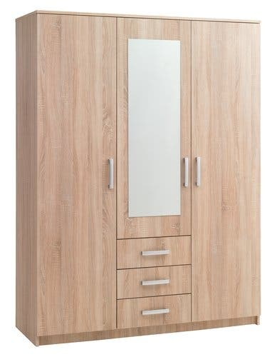 Wardrobe 150x200 combi oak