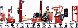 maquinaria, herramientas taller mecanico coches