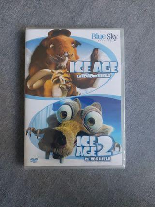 """DVD """"Ice Age"""" y """"Ice Age 2"""""""