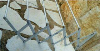 tendedero extensible pared 180x86cm