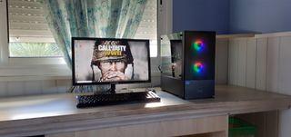 Ordenador Gaming i5 RGB+ASUS RX570 4Gb+SSD 240Gb