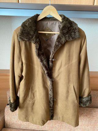 Chaqueton de abrigo con forro pelo