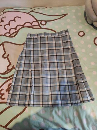 Falda uniforme talla 16