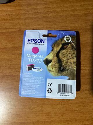 2 CARTUCHOS DE TINTA EPSON MAGENTA T0713