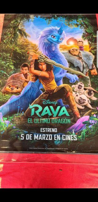 Póster Raya y el último Dragón. Disney. Pixar