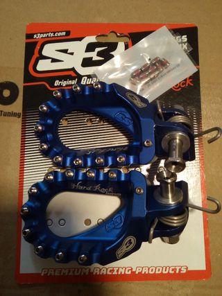 S3 estriberas,MX enduro blue