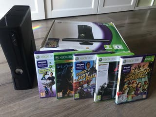 Consola Xbox 360 Kinect 4GB