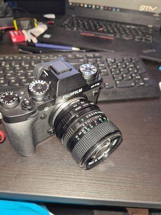 Adaptador de Objetivos Canon FD - Fujifilm XF