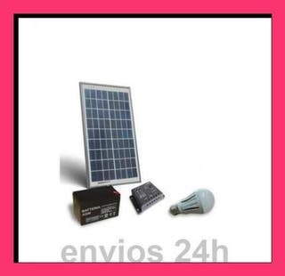 Kit solar 10 w casetas sin luz oferta