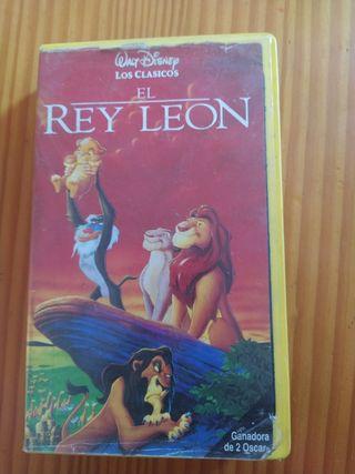 El Rey León: Cinta de VHS