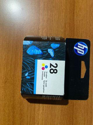 2 CARTUCHOS DE TINTA TRICOLOR HP 28