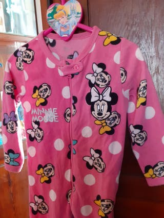 Mono pijama de Minnie
