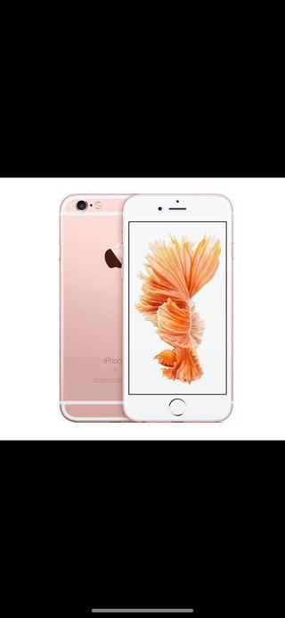 iPhone 6s en rosa 64gb