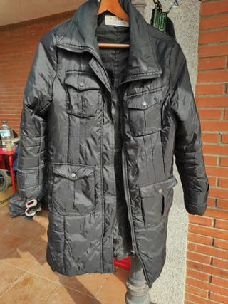 chaqueta mujer negra talla m