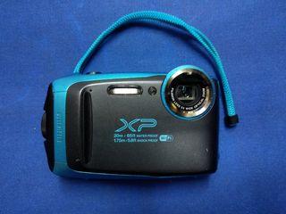 Fujifilm XP-120 - Sky Blue, Cámara acuática 16.4 m