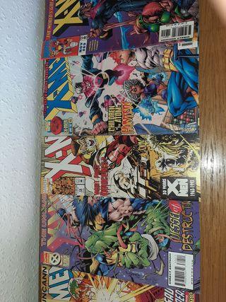 Lote de 5 comics en inglés de X-men