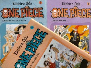 One Piece - Tomo 1, 2 y 4