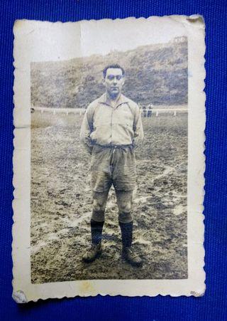Foto años 50 campo de futbol Montefuerte Arrigorri