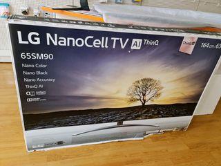LG 65 PULGADAS TV NANOCELL ALTA GAMA!!!4k
