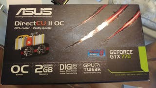 TARJETA GRÁFICA ASUS NVIDIA GEFORCE GTX 770 OC 2GB