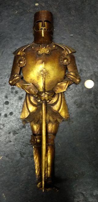 Armadura decoración, hecho a mano antigua