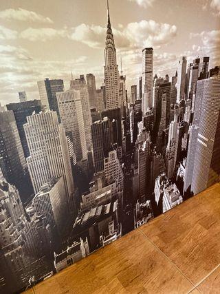 Cuadro de Nueva York en blanco y negro