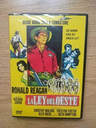 La ley del oeste DVD