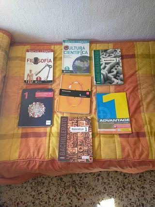 Lote de 7 libros de 1° Bachillerato