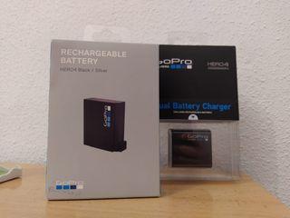 Batería y cargador GoPro Hero 4 nuevos