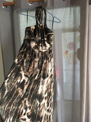 Vestido de Fiesta H&M - Animal Print