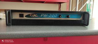 Etapa potencia Acoustic Control PW-200